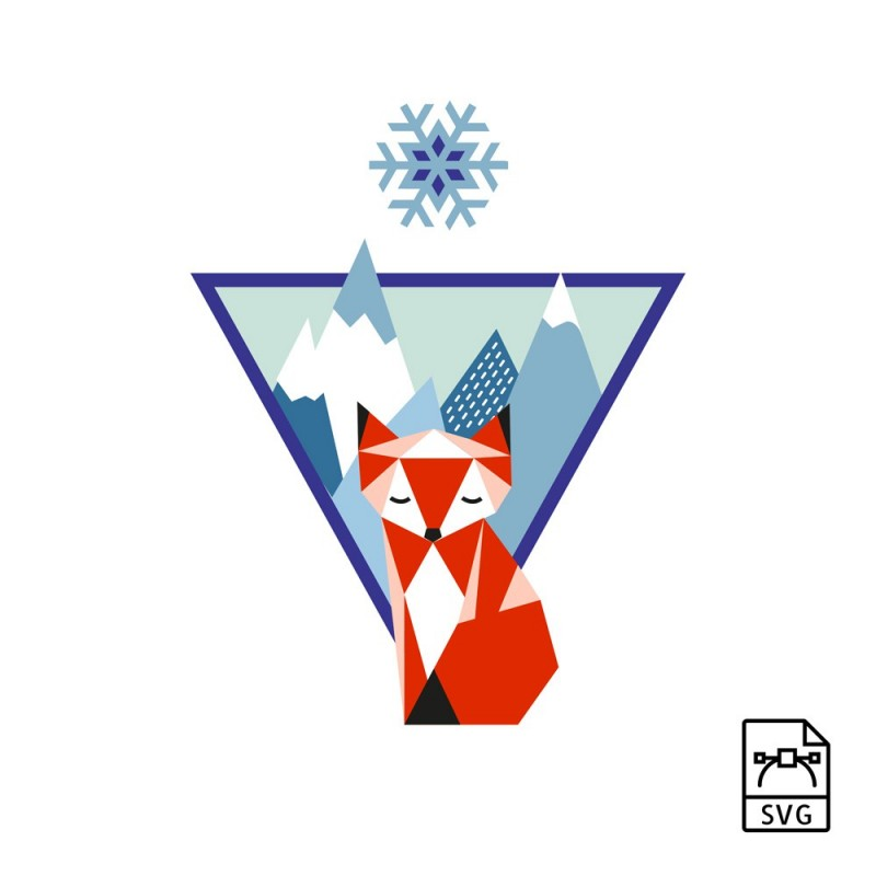 Illustration vectorielle Renard